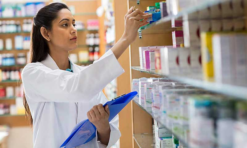 ways to organise medical supplies at medical store