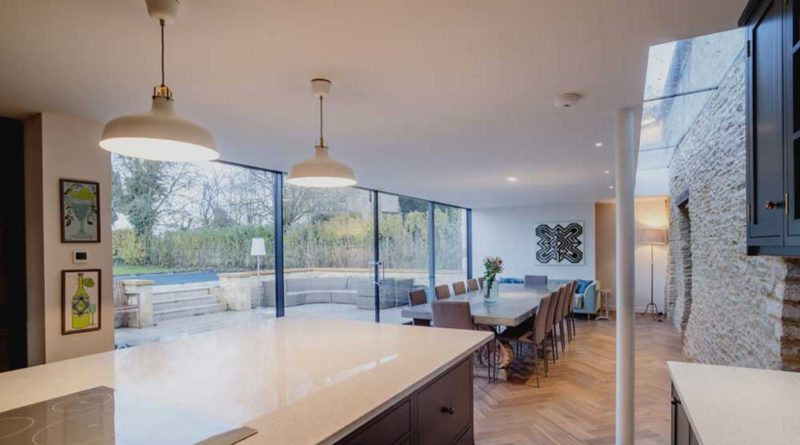 get a better view with glass windows and doors