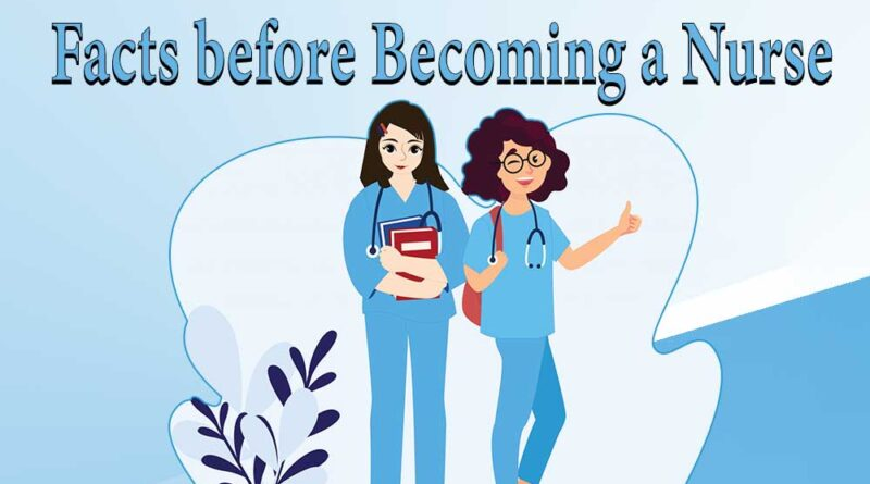 Facts before Becoming a Nurse
